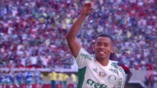 Deu saudade, palmeirense? Reveja os gols de Gabriel Jesus contra o Flamengo