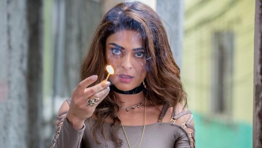 Juliana Paes mostra os bastidores de cena 'quente' de Bibi Perigosa