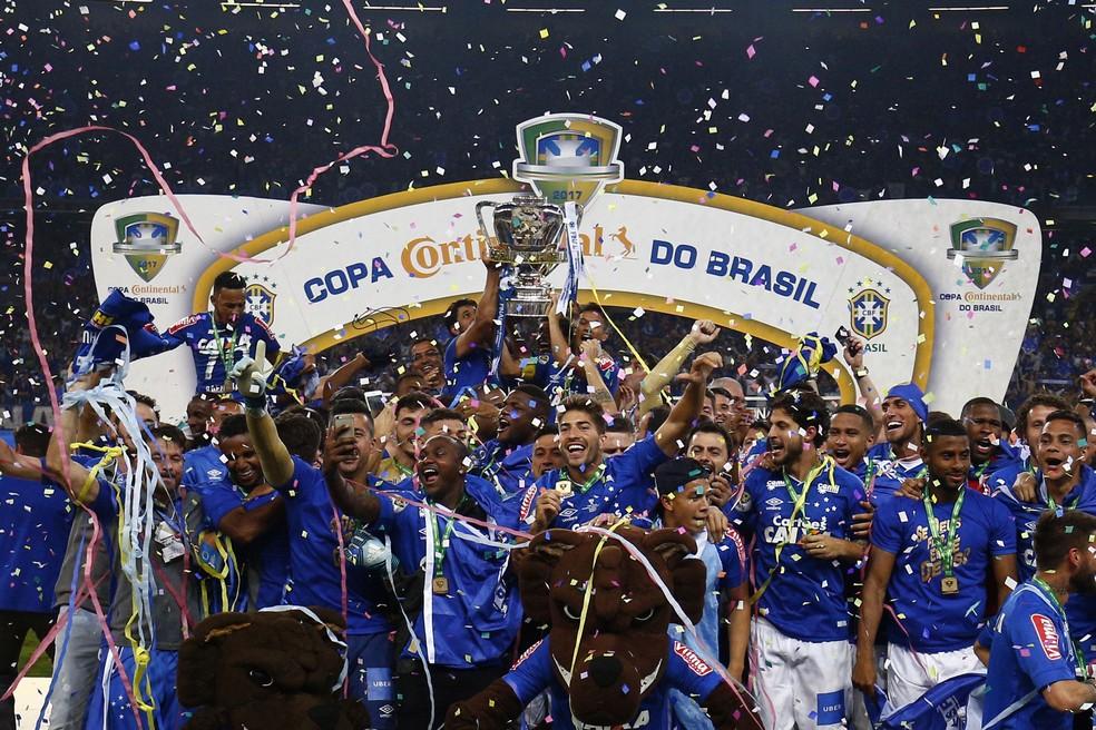 Título da Copa do Brasil dá tempo ao Cruzeiro para planejar melhor a temporada 2018 (Foto: THIAGO CALIL/PHOTOPRESS/ESTADÃO CONTEÚDO)