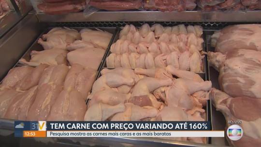 Pesquisa aponta que preços de carnes têm grande variação em açougues de Belo Horizonte
