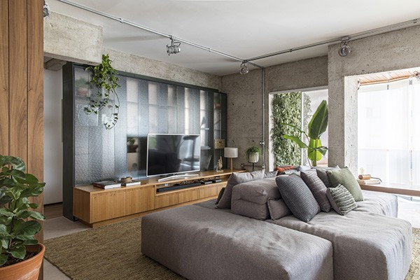 salas-com-sofas-modulares-6-projetos-que-o-tornam-peca-protagonista-no-ambiente (Foto: Reprodução)