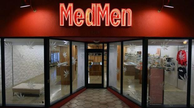 Loja da MedMen nos Estados Unidos (Foto: Divulgação)