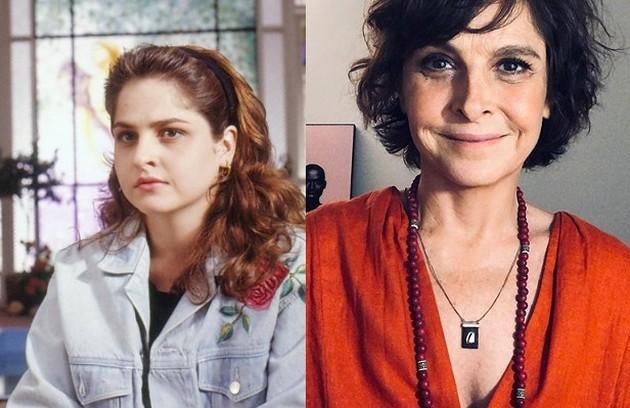 Drica Moraes viveu a divertida empregada Cida. Atualmente, faz parte do elenco de 'Sob pressão' (Foto: TV Globo / Reprodução)
