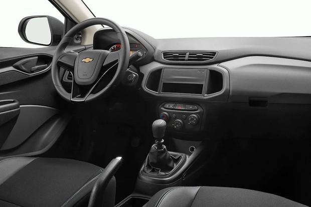 Interior do Chevrolet Joy Plus (Foto: Divulgação)