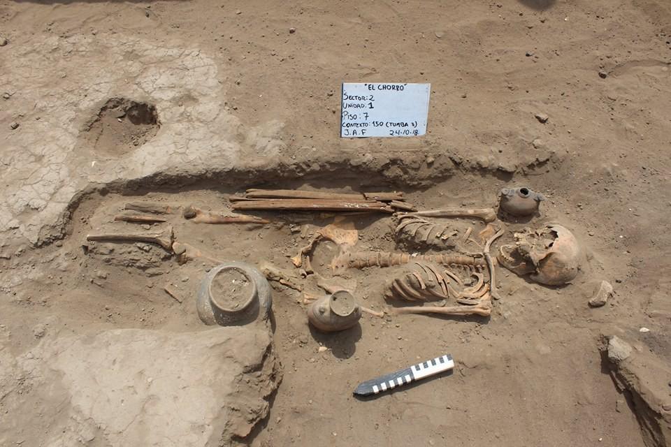 15 esqueletos da Civilização Moche não tinham os pés (Foto: Museo Tumbas Reales de Sipan/Reprodução)