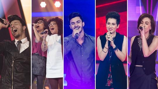 Assista aos vídeos mais vistos da segunda noite de Audições do 'The Voice Brasil'