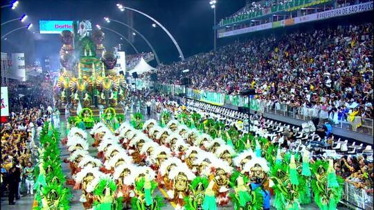Mancha Verde é campeã do carnaval paulista