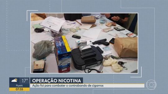 PF prende em MG suspeitos de contrabandear cigarros