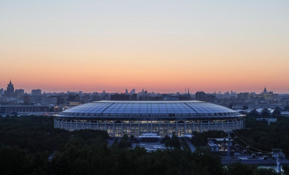 Lujniki será palco da abertura da Copa do Mundo (Foto: Reuters)