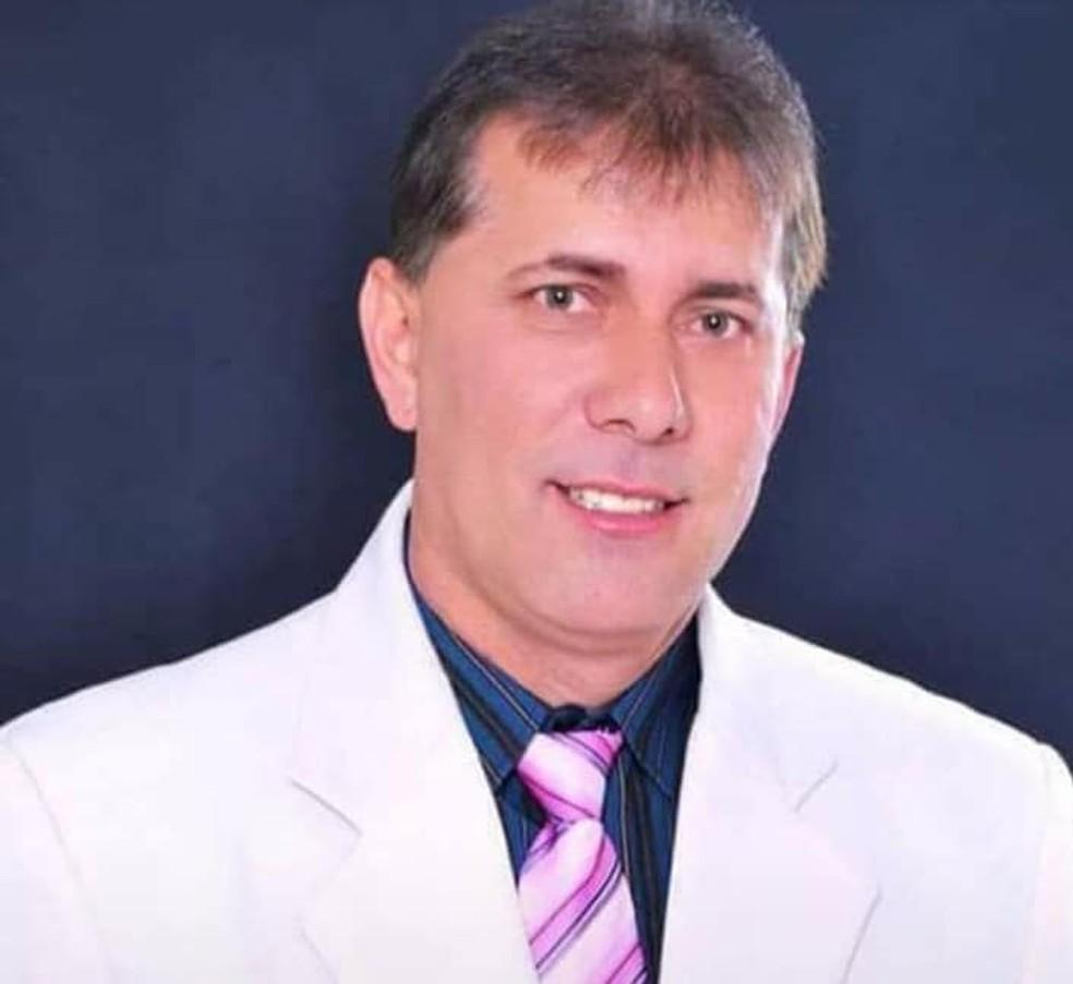 Hilton Rosa da Silva morreu de complicações da Covid-19 em Passos (MG) — Foto: Arquivo pessoal