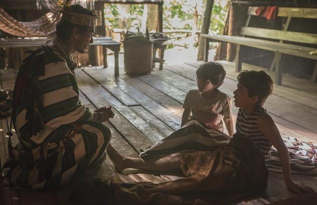 Ruy e Zeca não sabem, mas tiveram seu destino cruzado ainda crianças, quando quase se afogaram e foram salvos por um índio Ashaninka (Foto:  Globo/Fabio Rocha)