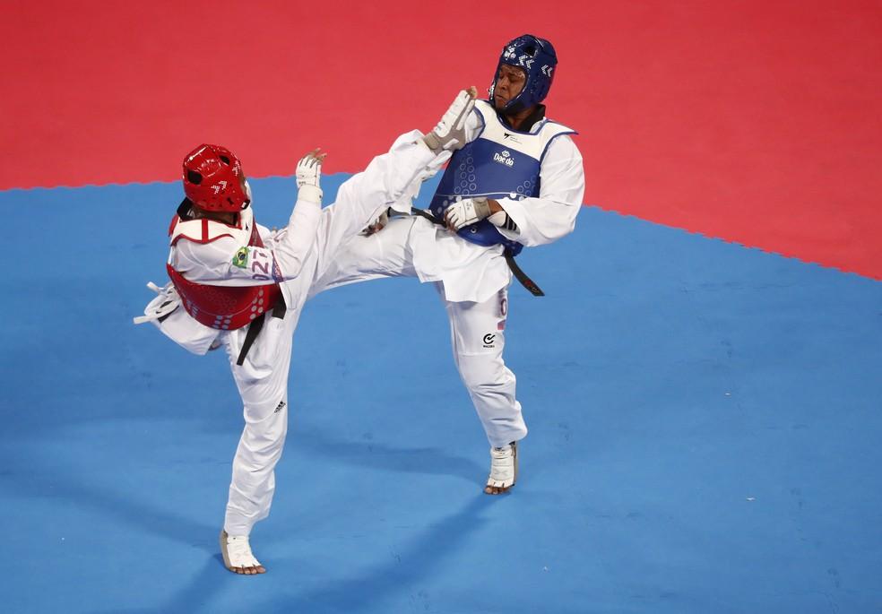 Maicon Andrade - Taekwondo — Foto: REUTERS/Susana Vera