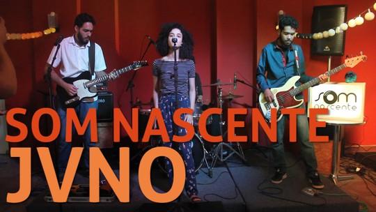 JVNO se inspira na filosofia e na poesia em rock alternativo no Som Nascente