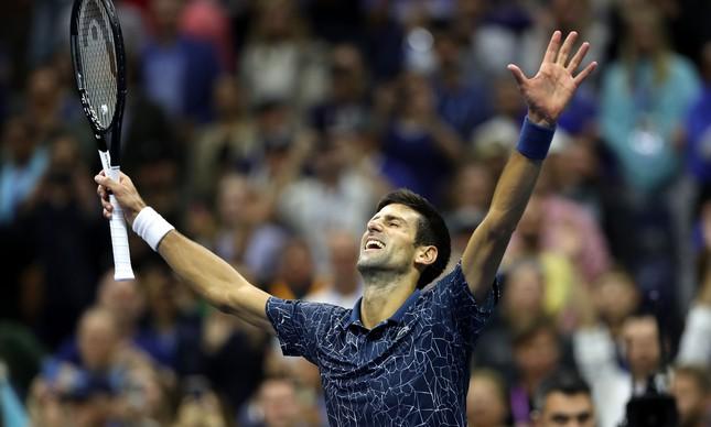 A emoção de Djokovic com o 14º Grand Slam