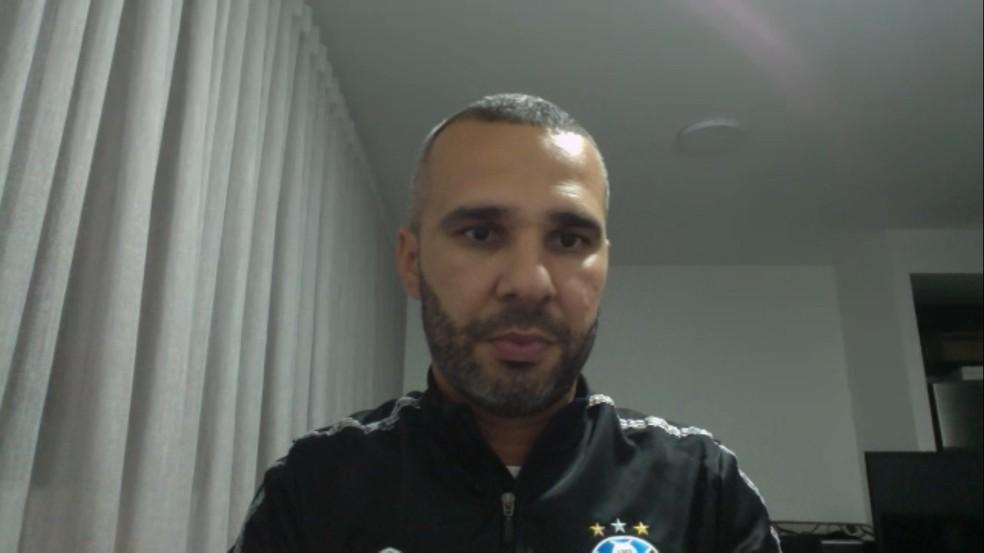Reverson Pimentel, preparador físico do Grêmio — Foto: Reprodução