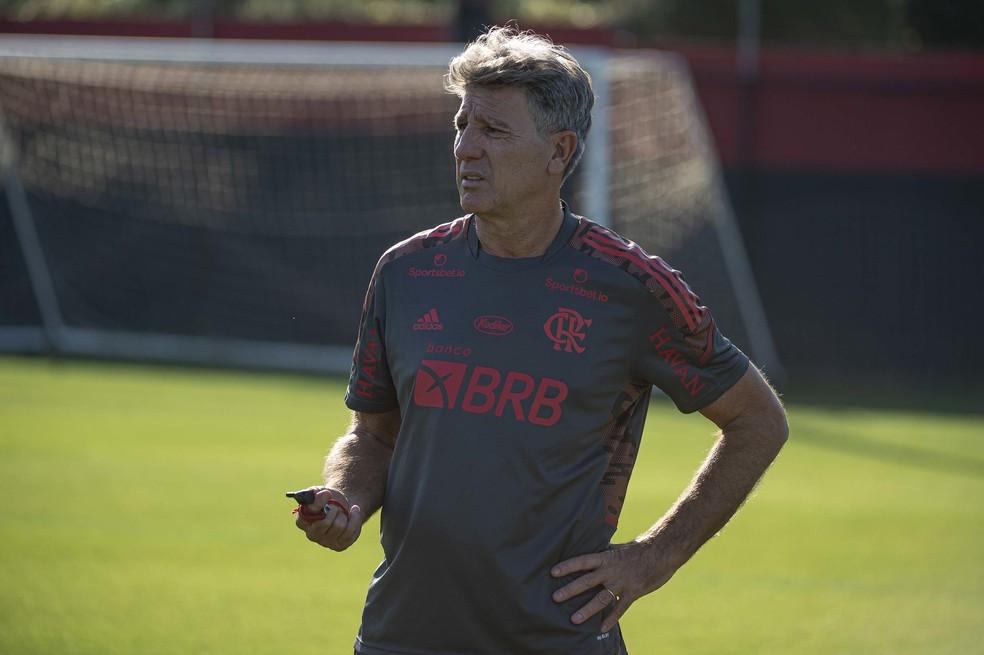 Com 100 de aproveitamento, Renato busca feito que n�o � alcan�ado desde 2009 no Flamengo