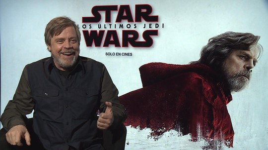 De volta a 'Star Wars', Mark Hamill lê teorias malucas sobre Luke e dá 'ideias horríveis' a diretor