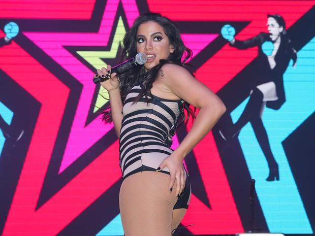 Anitta em show em São Paulo (Foto: Manuela Scarpa/ Brazil News)