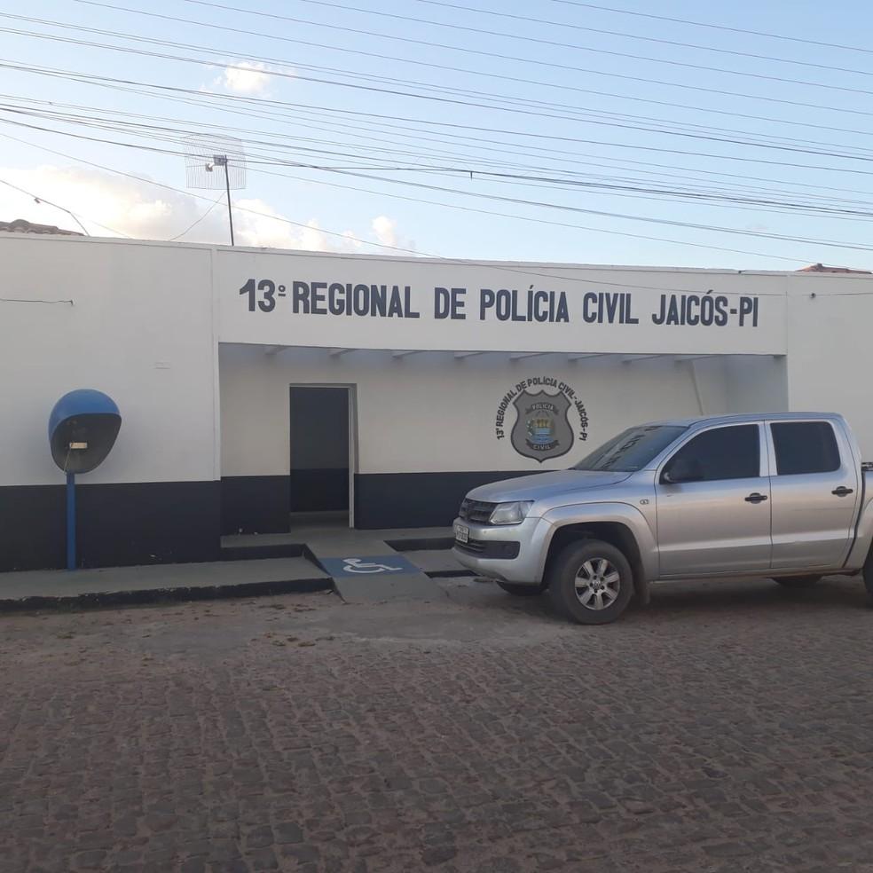 Caso é investigado pela Delegacia Regional de Jaicós, Sul do Piauí.  — Foto: Divulgação/Polícia Civil