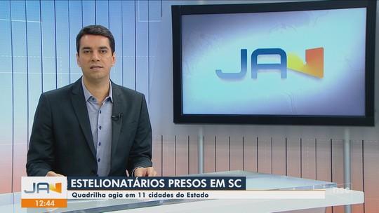 Três pessoas são presas suspeitas de estelionato em Santa Catarina