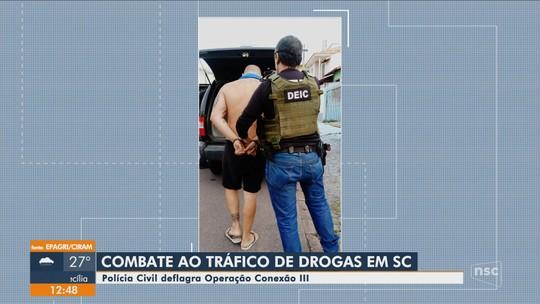 Polícia Civil faz operação contra grupo criminoso de SC criado dentro do sistema prisional