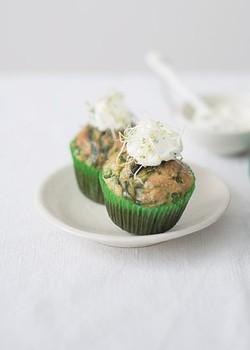 Muffin vegetariano Senac (Foto: Divulgação)