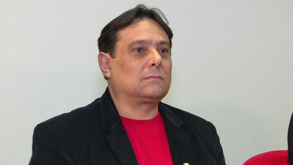 Romer Guex é candidato ao Senado pelo PSOL (Foto: Reprodução/RBS TV)