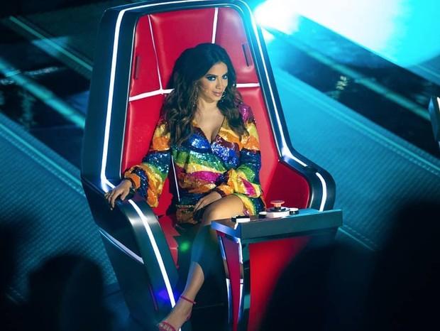 Anitta causa no La Voz México (Foto: Instagram/Reprodução)