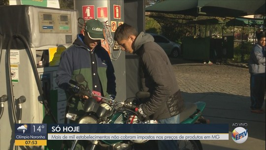 Postos do Sul de MG vendem combustíveis mais baratos no Dia Livre de Impostos