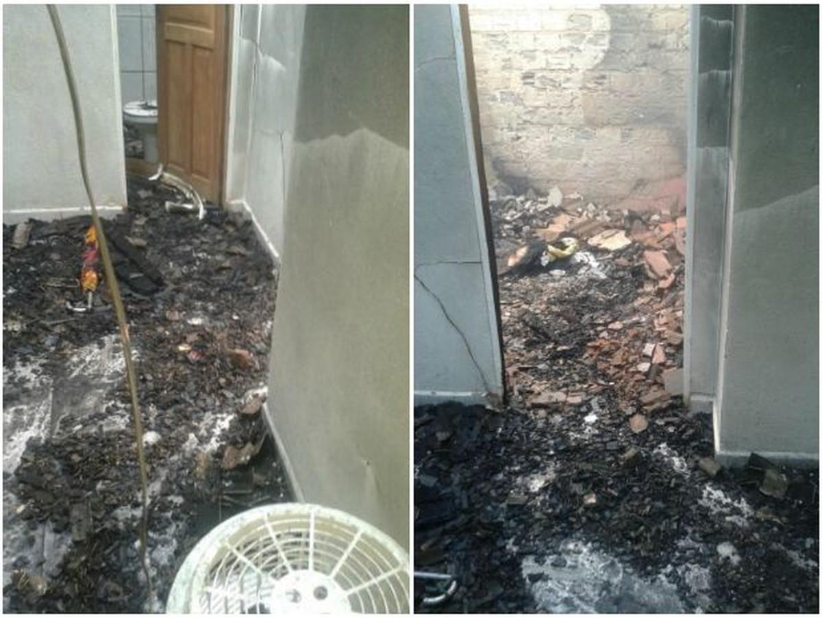 Mulher tem casa incendiada após receber ameaça de morte de ex-namorado em RR