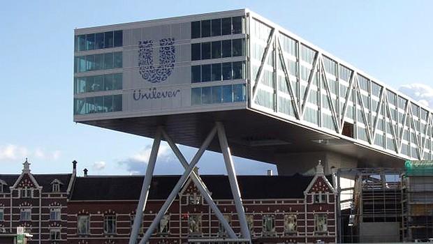 Edifício da Unilever em Rotterdam (Foto: Reuters/Arquivo)