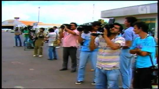 Profissionais revelam os desafios que enfrentaram na cobertura jornalística do acidente com o césio-137