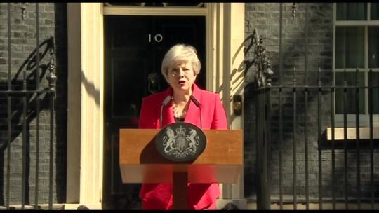 Primeira-Ministra britânica anuncia que deixa governo dia 7 de junho