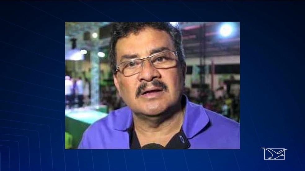 Geraldo Amorim (PMDB) foi preso na madrugada desta terça-feira (22) após desacatar autoridades policiais. — Foto: Reprodução/TV Mirante