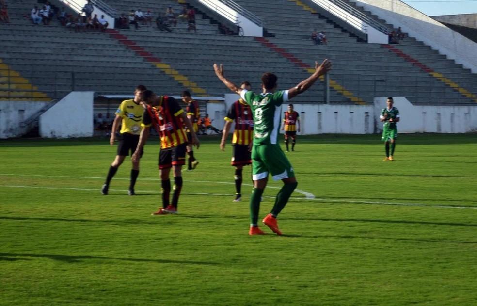 Serrano venceu amistoso por 2 a 0 (Foto: Adjair Fernandes / Ascom Serrano-PB)