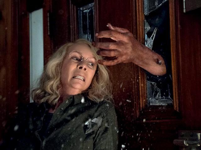 O filme Halloween, com Jamie Lee Curtis, do produtor Jason Blum, da produtora Blumhouse (Foto: Fotoarena)