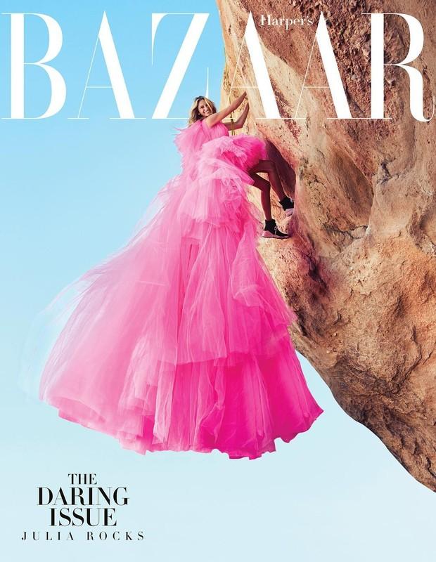 Julia Roberts para a Harpers Bazaar US (Foto: Alexi Lubormirski/Harpers Bazaar/Reprodução)