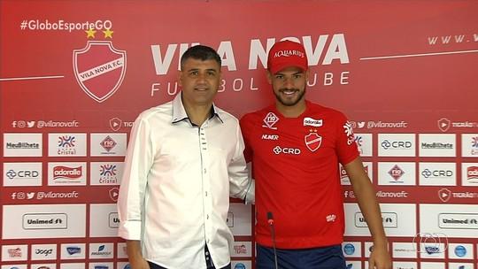 Vila Nova apresenta o zagueiro Patrick Marcelino