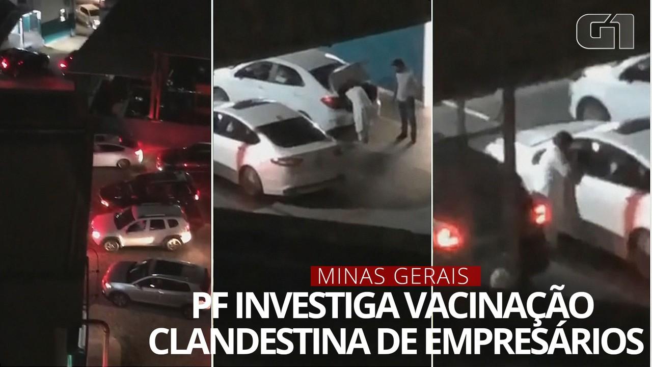 PF investiga se empresários foram vacinados ilegalmente em Minas