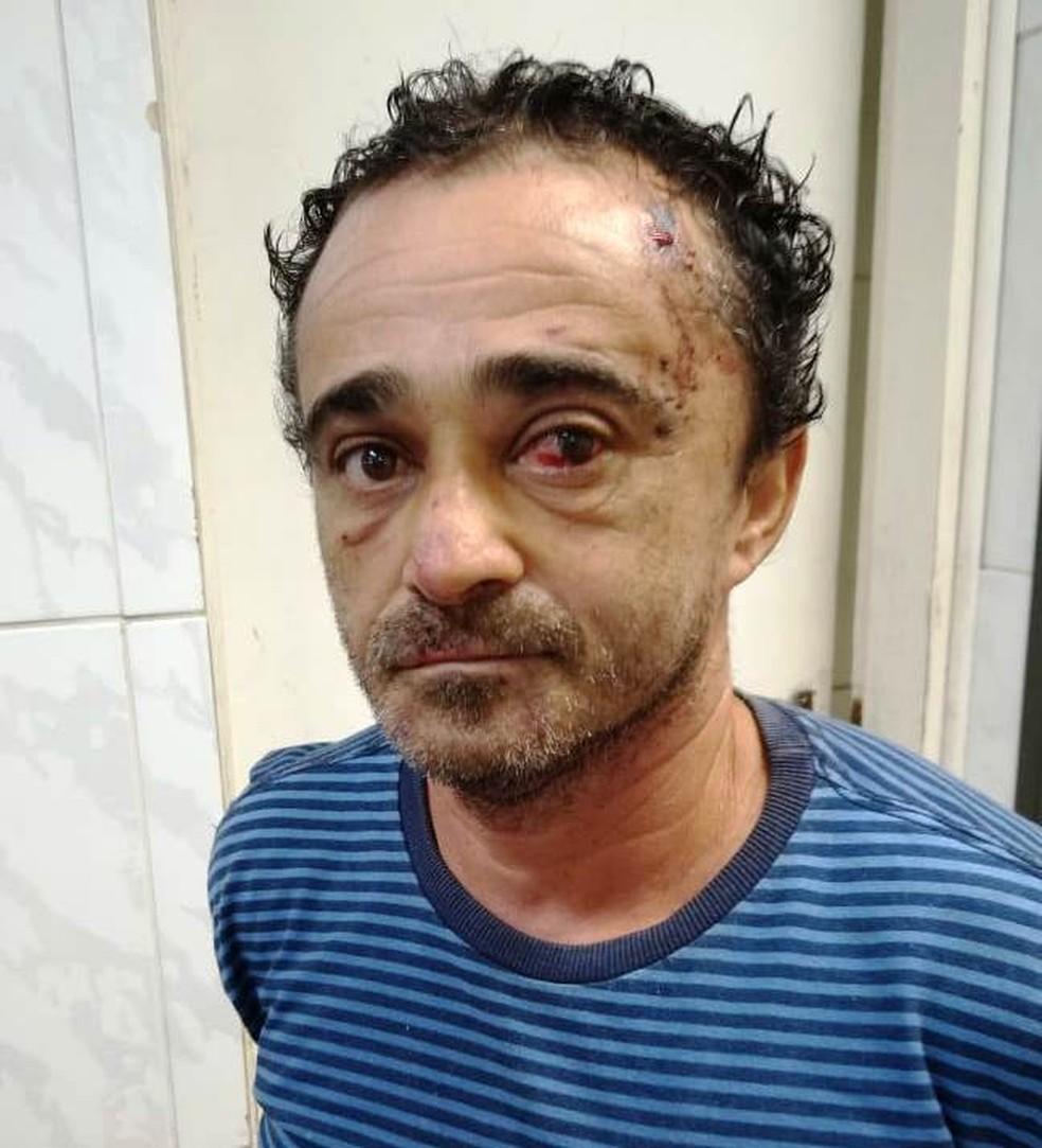José Diógenes de Andrade, de 47 anos, foi localizado em Praia Grande, SP — Foto: G1 Santos