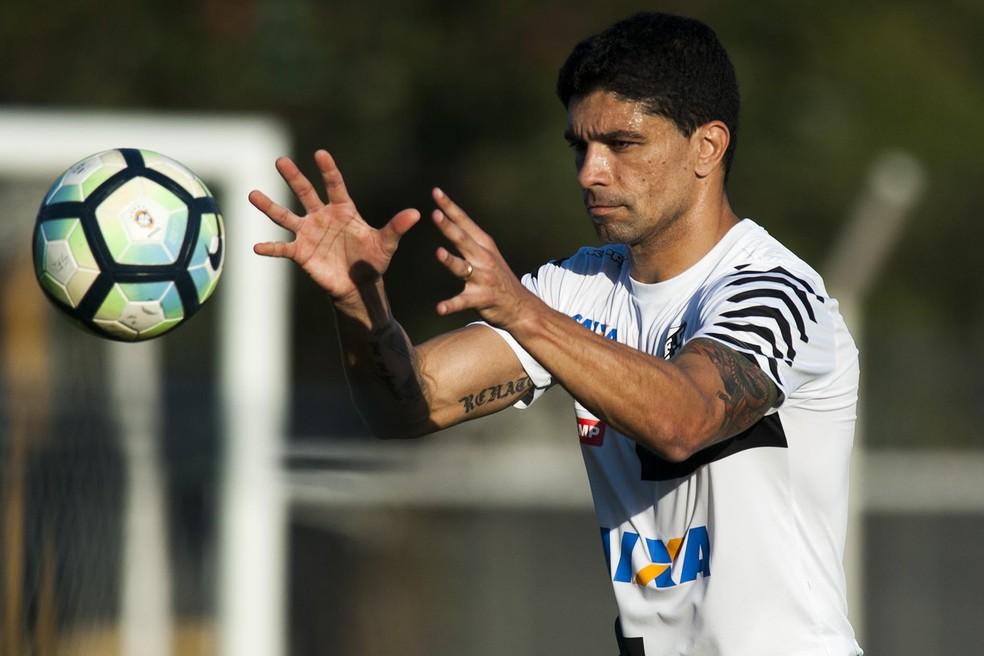 Renato deve ficar à disposição para clássico contra o Palmeiras (Foto:  Ivan Storti/ Santos FC)