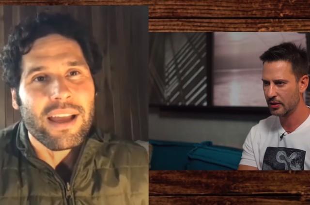 Dudu Azevedo em entrevista ao influenciador Caio Fischer (Foto: Reprodução )