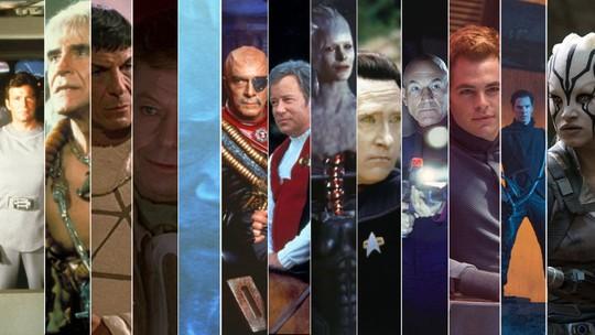De 'Jornada nas estrelas' a 'Star trek': todos os 13 filmes em seis minutos