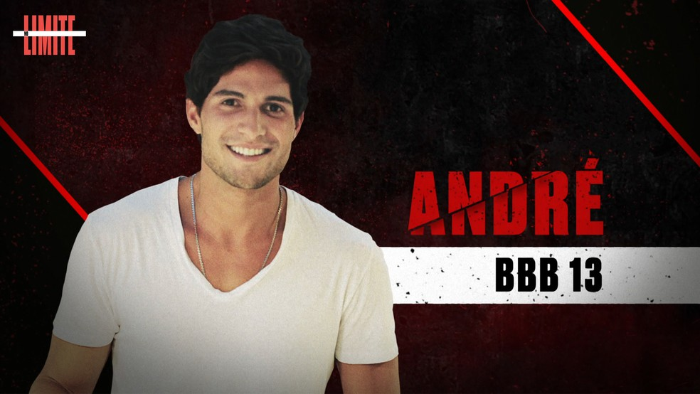 André é um dos participantes do 'No Limite' ? Foto: Globo