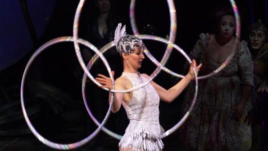 Fant360 acompanha ensaio de 'Amaluna', do Cirque du Soleil