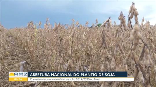 Abertura nacional do plantio de soja reúne 1 mil pessoas em Rondônia