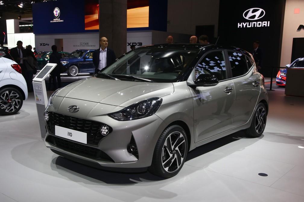 Hyundai i10 — Foto: Newspress