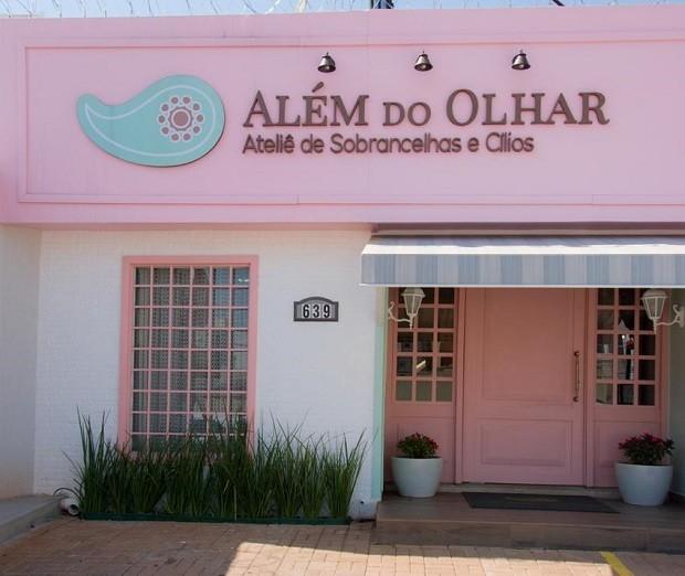 Fachada da Além do Olhar (Foto: Divulgação)