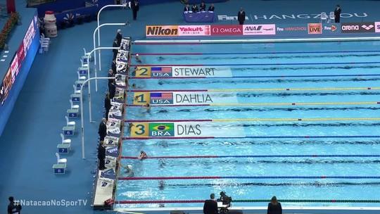 """Colegas de quarto, Daiene e Etiene obtêm pódios inéditos em provas olímpicas após """"pilha"""" de Brandonn"""