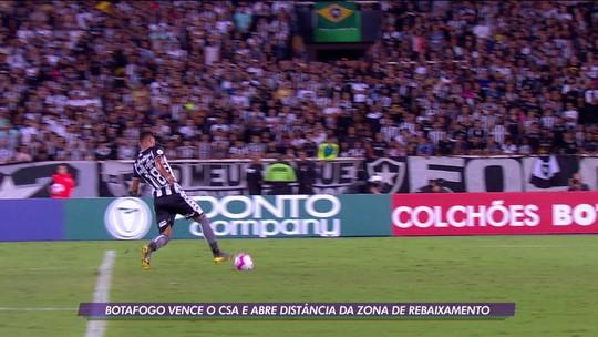 Botafogo vence o CSA e abre distância da zona de rebaixamento